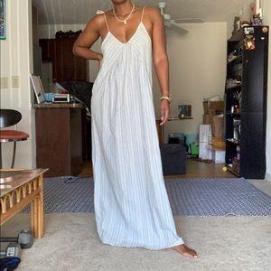 NWT Altar'd State Striped Maxi Dress Sz Small